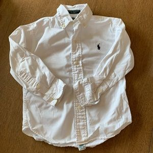 🏇🏼 2 for $20 White Polo Ralph Lauren Shirt